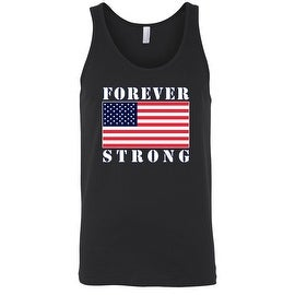 Men's Tank Top USA Flag American Pride Stars & Stripes Workout Gym Patriotic