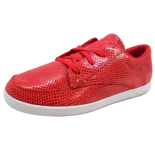 Reebok Men's SL Berlin Deck Snake/Excellent Red-White V45389
