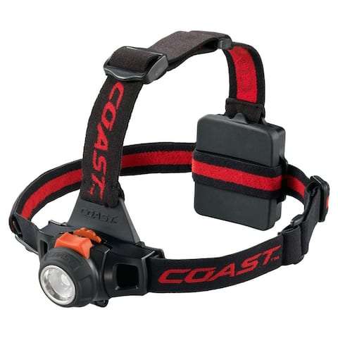 CoastAC 19722 Pure Beam Focusing LED Headlamp, 330-Lumens, HL27
