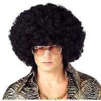 Jumbo Afro Costume Black Wig