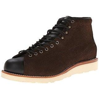 "Chippewa Mens 5"" Bridgeman Work Boots Leather Lace-Up"