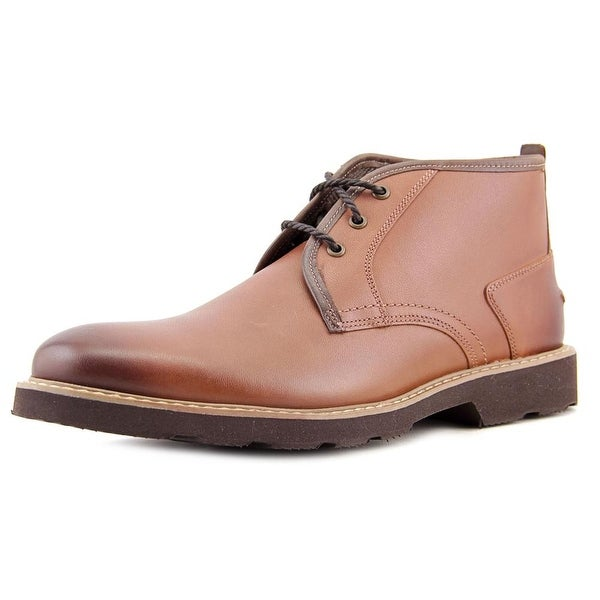 Florsheim Casey Men  Round Toe Leather Brown Chukka Boot