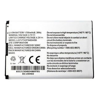Replacement Battery for ZTE Li3717T42P3h654458 (Single Pack) Replacement Battery