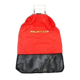 Palantic Red Lobster Fish Catch Gear Nylon Game Bag Net with Squeeze Open Handle