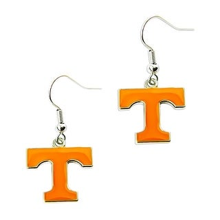 Tennessee VOLS Volunteers Dangle Logo Earring Set NCAA Charm Gift