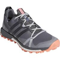 adidas Women's Terrex Agravic Trail Running Shoe Grey Three/Grey Four/Chalk Coral