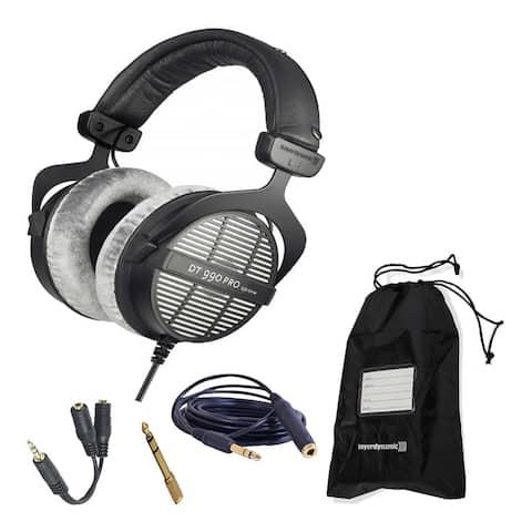 Beyerdynamic DT 990 Pro 250 Ohm Headphones and 3-Year Warranty