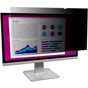 """3M Mobile Interactive Solution Hc270w9b High Clarity Privacy Filter F/27"""" Monitor"""