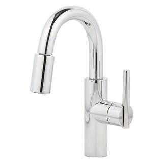 Newport Brass 1500-5203 East Linear Pullout Spray High-Arc Bar Faucet