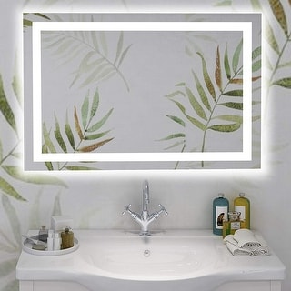 Link to Vanity Art 39-Inch LED Lighted Illuminated Bathroom Vanity Wall Mirror with Touch Sensor on Front Similar Items in Mirrors