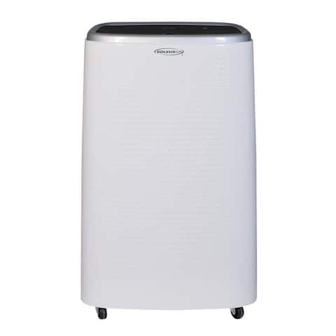 Soleus Air New 9,000 BTU DOE Rated Portable Air Conditioner with Turbo Cool and MyTemp Remote Control (Former 14,000 BTU)