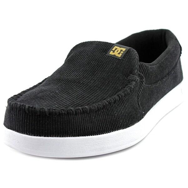 DC Shoes Villian Men Moc Toe Canvas Black Loafer