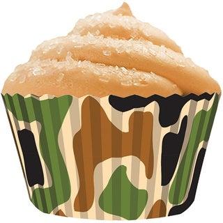 Standard Baking Cups-Camo 32/Pkg