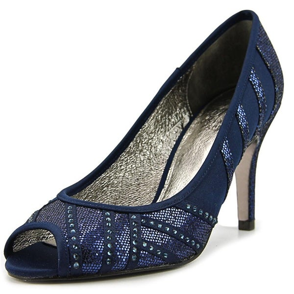 Adrianna Papell Flair Women Peep-Toe Leather Heels