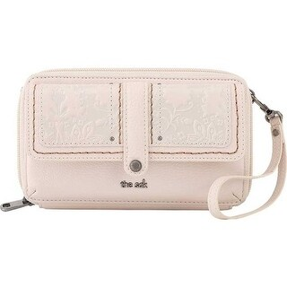 THE SAK Women's Sequoia XL Smartphone Crossbody Stone Floral Embossed - US Women's One Size (Size None)