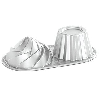 Link to Nordicware Pro Cast Cute Jumbo Cupcake Non-Stick Baking Pan, Gray, 6 Cups Similar Items in Bakeware