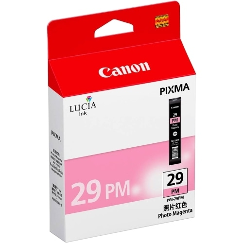 Canon PGI-29 P M Ink Tank Canon LUCIA PGI-29PM Ink Cartridge - Magenta - Inkjet - 1 Pack - OEM