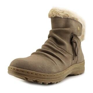 Baretraps Amelya Round Toe Suede Snow Boot