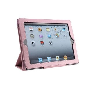 The New iPad 3rd Generation Smart Cover PU Leather Case With Stand