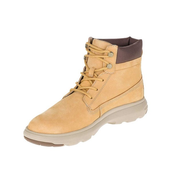 Caterpillar Mens Awe Boots in Honey