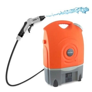 Home Pure Clean Outdoor Portable Spray Pressure Washer Cleaner System
