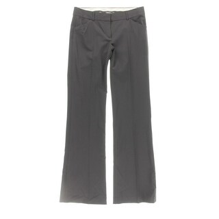 Theory Womens Max C Trouser Pants Wool Flat Front - 6