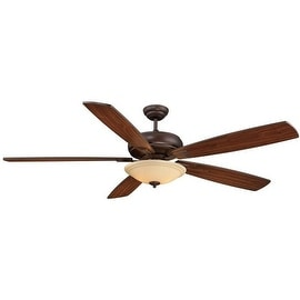 "Savoy House 68-227-5 Wind Star 68"" Span 5 Blade Indoor Ceiling Fan, Blades Included"