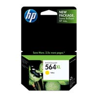 HP 564XL High Yield Yellow Original Ink Cartridge (CB325WN)(Single Pack)