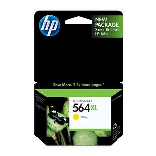 Hewlett Packard CB325WN#140 HP 564XL Yellow Ink Cartridge - Yellow - Inkjet