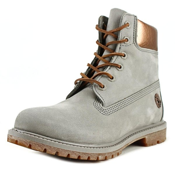 Timberland 6 Inch Premium Metallic Women Round Toe Leather Boot