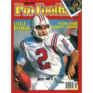 4577f8328 Shop Doug Flutie unsigned New England Patriots Athlon Sports 1989 NFL Pro  Football Preview Magazine - Free Shipping On Orders Over  45 - Overstock -  ...