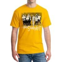 Sandlot Team Men's Gold T-shirt