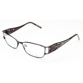 Judith Leiber Women's Micro Pav Eyeglasses Bronze - S