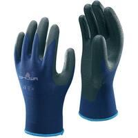 Showa 380S-06.RT Atlas 380 Nitrile Foam Grip Gloves, Small