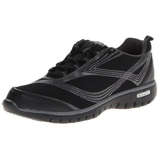 Propet Womens Travellite Mesh Lace-Up Walking Shoes