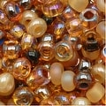 Czech Seed Beads 8/0 Autumn Leaves Mix (1 Ounce) - Thumbnail 0