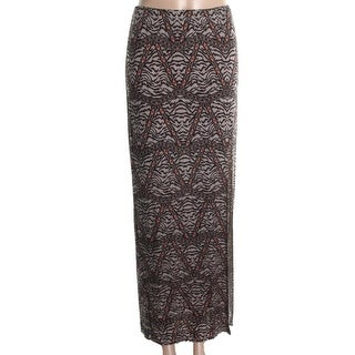 Material Girl Womens Juniors Jersey Printed Maxi Skirt - XL