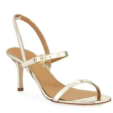 Tory Burch Womens Penelope Mirror Sandals Slingback