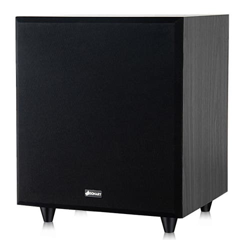 Sonart 10'' 400W Powered Active Subwoofer Front-Firing Woofer Surround Sound Theater