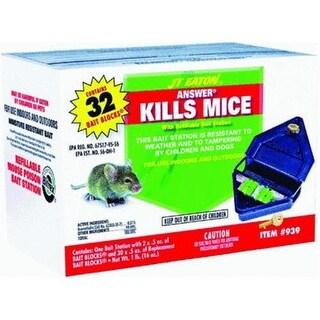 J.t.Eaton 939 Refillable Mouse Bait Station, 1 Lb