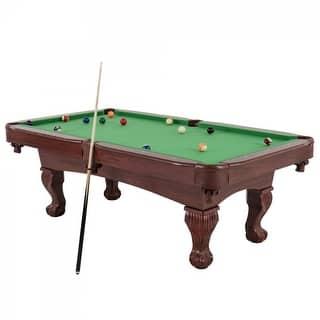 TRIUMPH 7.5' Santa Fe Billiard Table with Accessories / 45-6784|https://ak1.ostkcdn.com/images/products/is/images/direct/9429b880d2425841f88e623f03341da5dd105ace/TRIUMPH-7.5%27-Santa-Fe-Billiard-Table-with-Accessories---45-6784.jpg?impolicy=medium