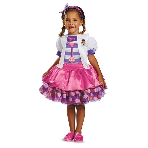Toddler Doc Mcstuffins Tutu Deluxe Costume Free Shipping On Orders Over 45 14673584