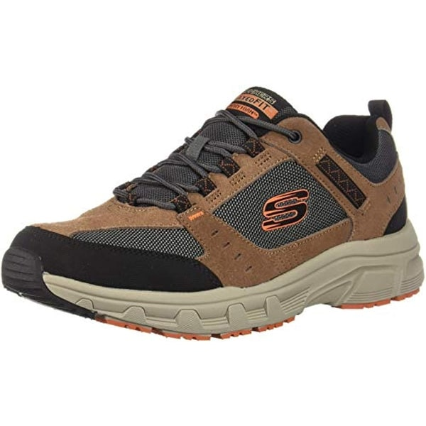 Skechers Relaxed Fit Oak Canyon Mens Sneakers BrownBlack 13 Eww