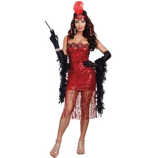 Dreamgirl Ain't She Sweet Adult Costume - Red