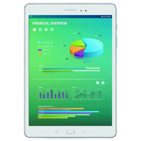 Shop Samsung Commercial Tablet - Sm-T350nzwaxar - Free