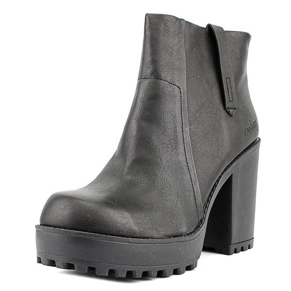Coolway Idina Women Round Toe Synthetic Ankle Boot