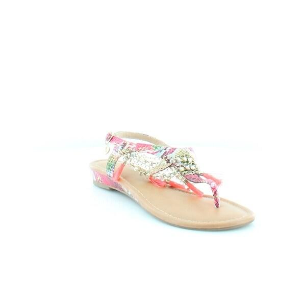 Thalia Sodi Zella Women's Sandals Magenta