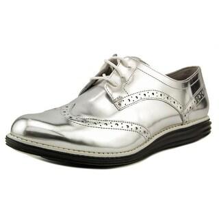 Cole Haan OriginalGrand Wingtip Oxford C Wingtip Toe Patent Leather Oxford