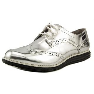 Cole Haan OriginalGrand Wingtip Oxford Wingtip Toe Patent Leather Oxford