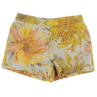 Alice + Olivia Womens Jacquard Floral Print Casual Shorts - 0